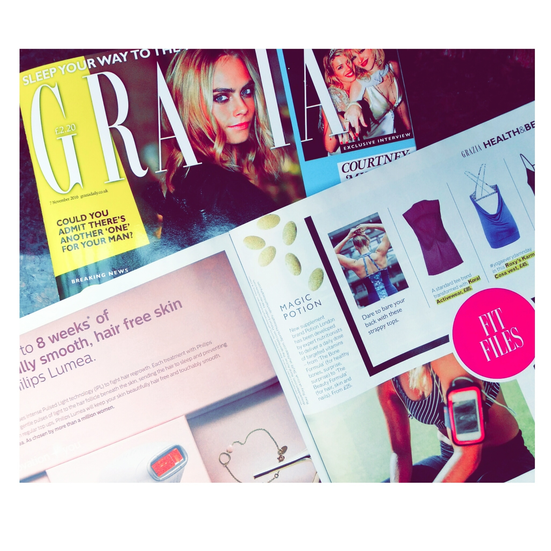 press coverage grazia